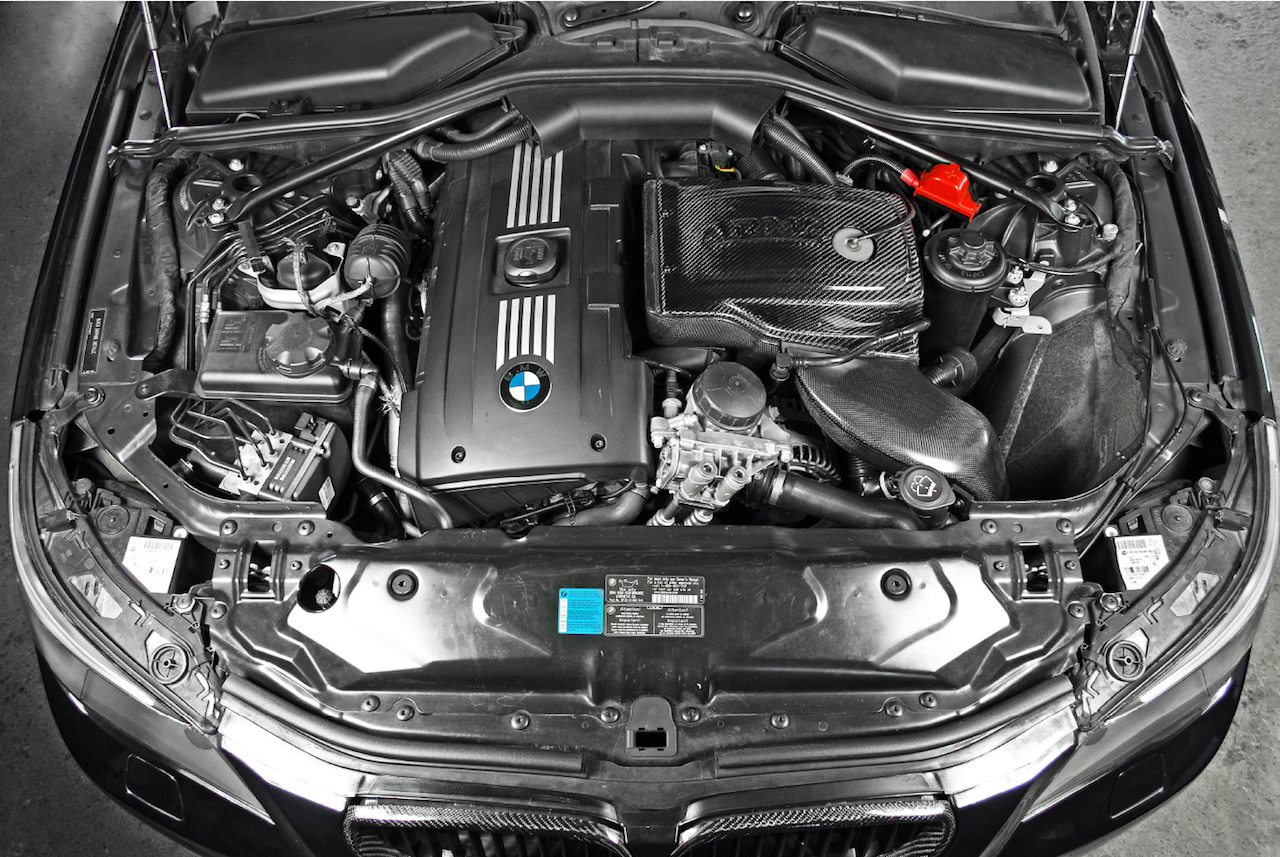 Bmw E60 535i Carbon Fiber Cold Air Intake Armaspeed