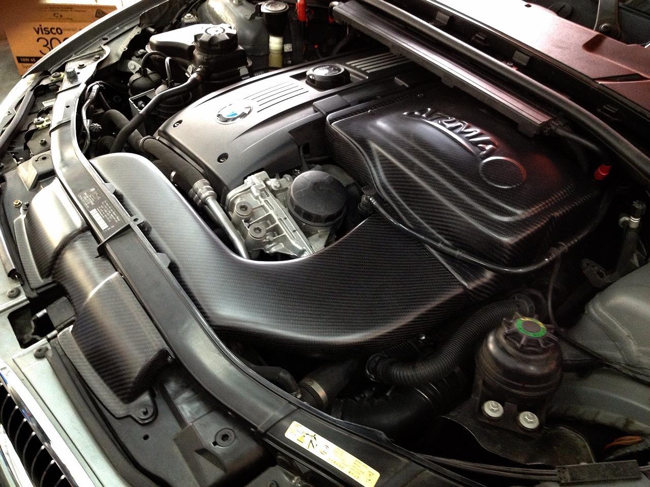 Bmw E90 335i Carbon Fiber Cold Air Intake Armaspeed