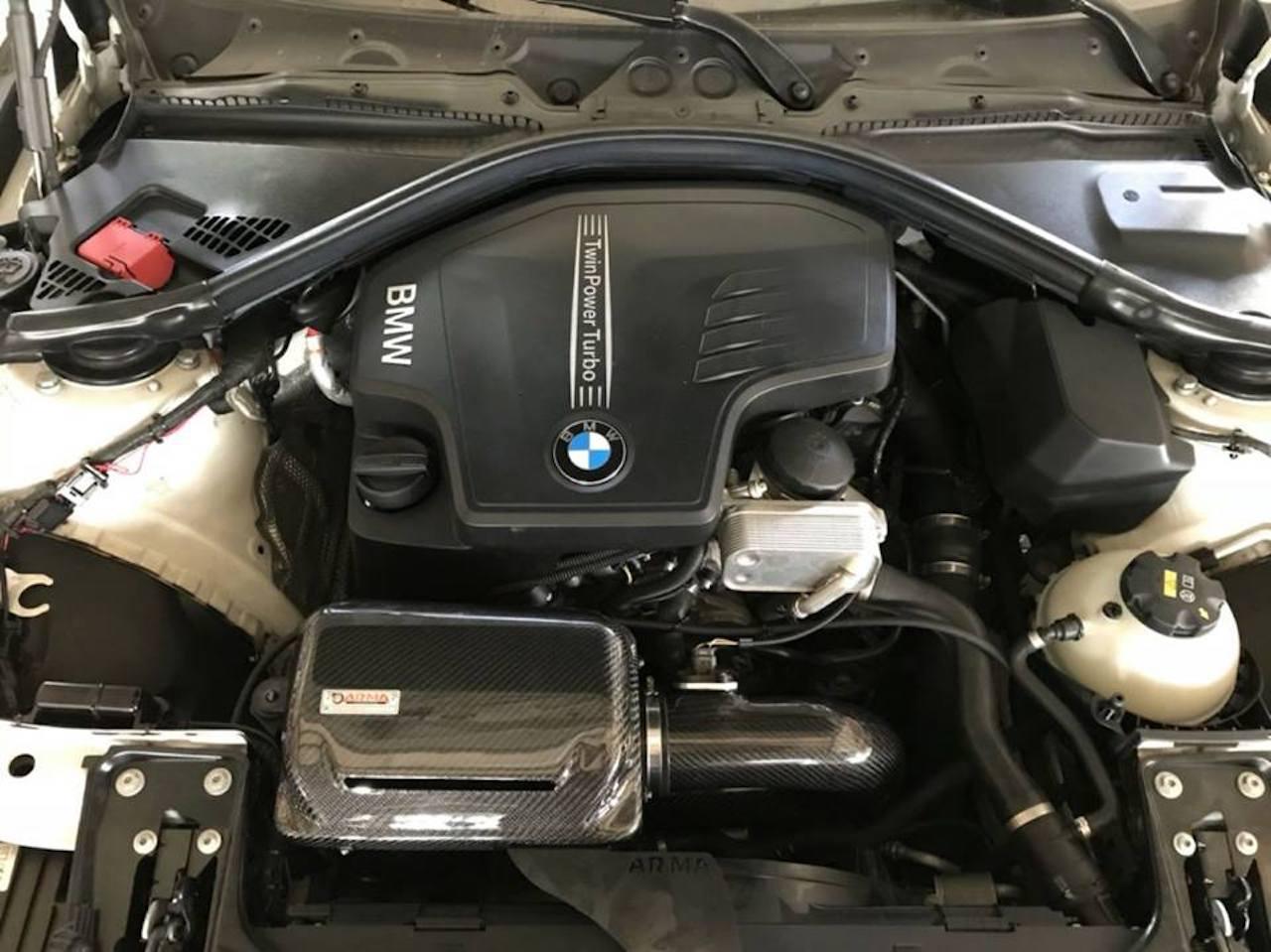 Honda Dealers In Ma >> BMW F30 328i Cold Carbon Intake - ARMA Speed