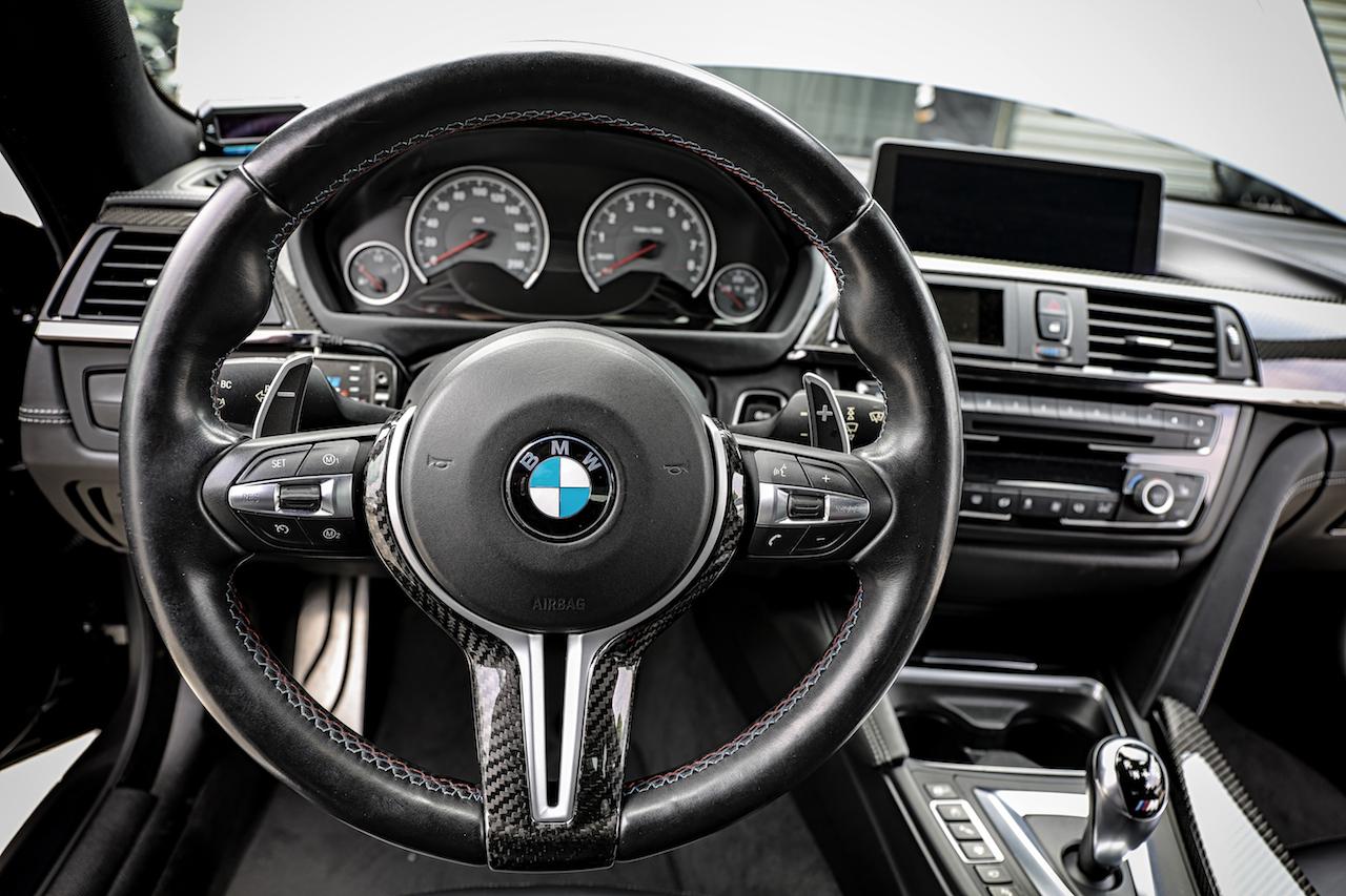Bmw F80 M3 F82 M4 F87 M2 F10 M5 Lci F12 M6 Carbon Fiber Steering Wheel Cover Armaspeed
