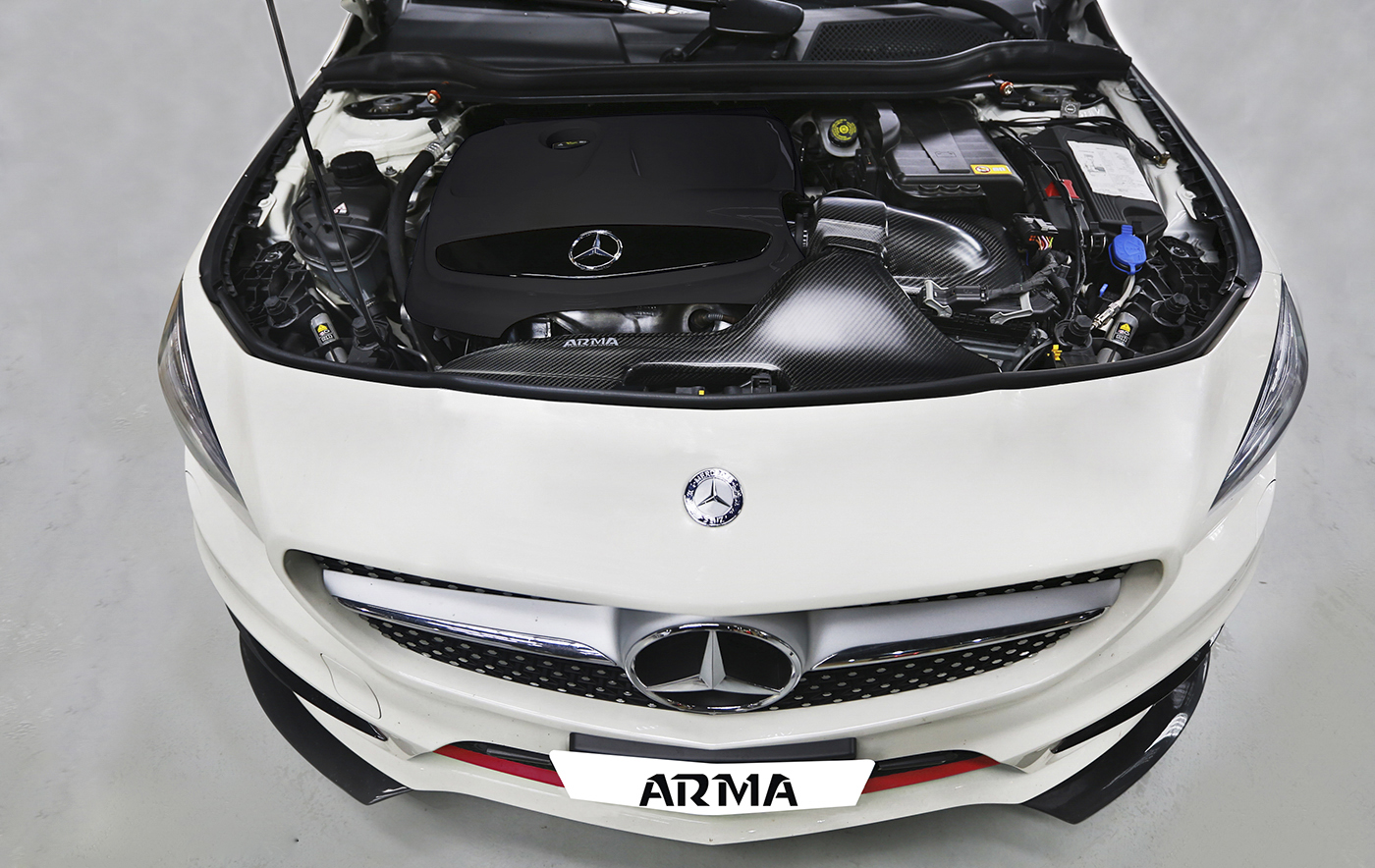 BMW Dealers In Ma >> Benz C117 CLA 250 Cold Carbon Intake - ARMA Speed
