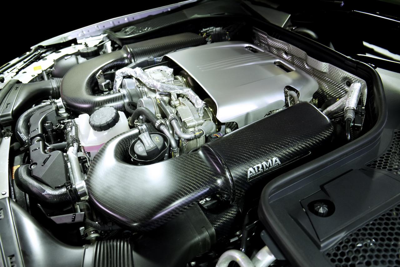 Subaru Dealers Ma >> Benz W205 C63s Cold Carbon Intake - ARMA Speed