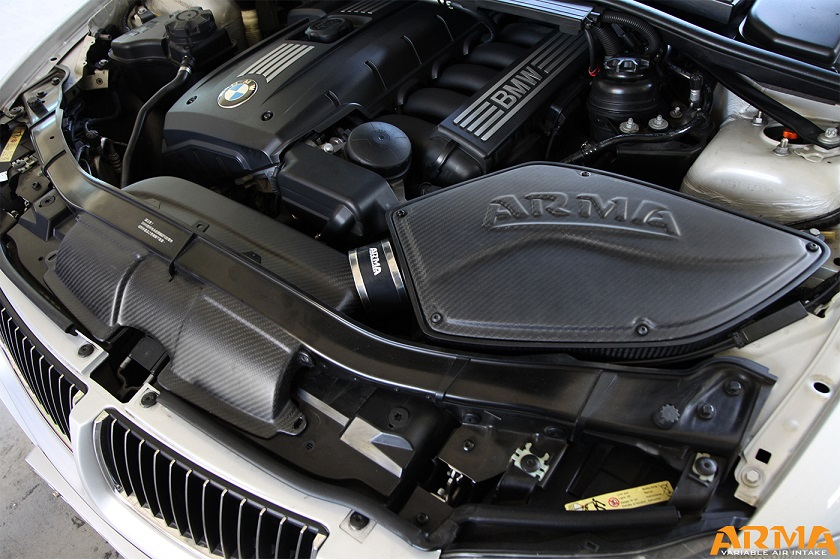 BMW Dealers In Ma >> BMW E90 325i/330i Carbon fiber Cold Air Intake - ARMA SPEED