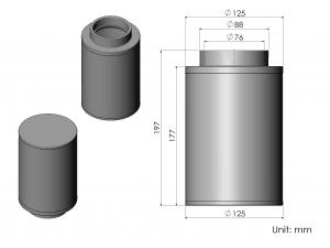 CS56-AR60024 ARMASPEED air filter