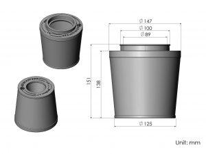 CS56-AR60039 ARMASPEED air filter