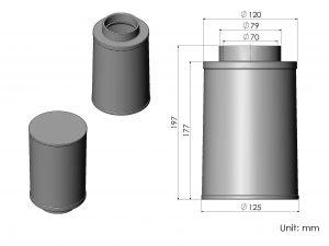 CS56-AR60053 ARMASPEED air filter