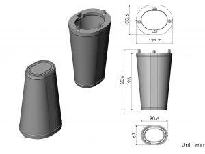 CS56-AR60061 ARMASPEED air filter